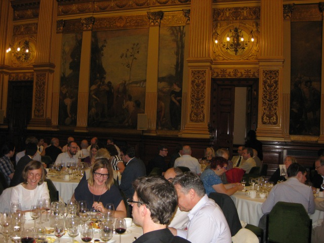 Conference dinner, Glasgow City Chambers, 2 July 2015